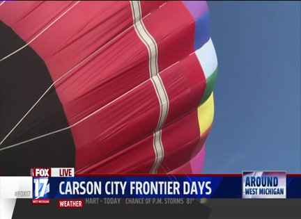 Frontier Days Return To Carson City