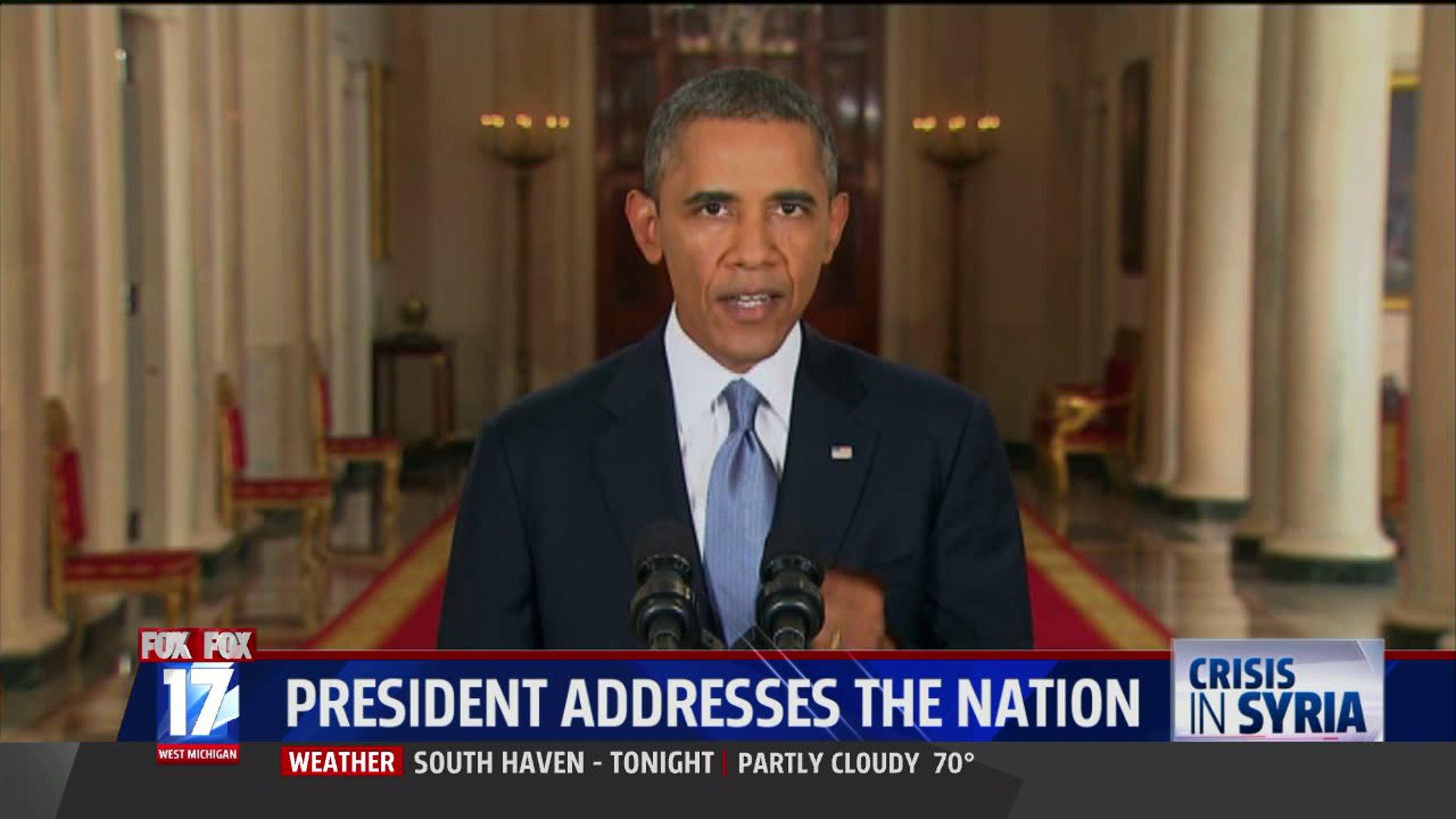 Obama Syria Speech