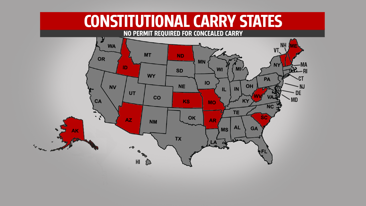Concealed Carry Without A Permit In Mi Here S Where It S Already